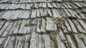 Image: Wooden roof