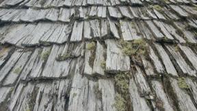 Bild: Wooden roof
