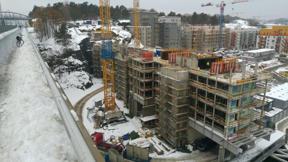 Bild: 14 november: Två är säkra oavsett snö: #StockholmVäxer     och #propagandacykling