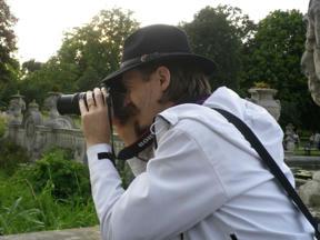 Bild: Rasmus fotograferandes stork.