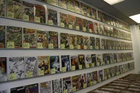 Bild: ... och rariteter (som t ex Fantastic Four, the coming of       Galactus, för £379.50).