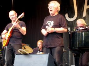 Bild: Claes Janson och Thomas Arnesen Blues Band