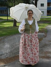 Bild: En stilfullt uppklädd Katarina