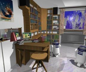 Bild: En modell av min lägenhet