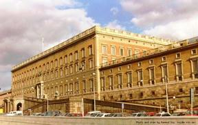 Bild: Kungliga Slottet i Stockholm.