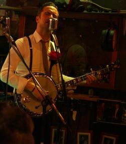 Bild: Bror David Nilsson på Banjo