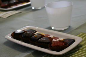 Bild: Chocolate tasting