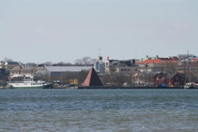 Image: Mariehamn from across the east bay.