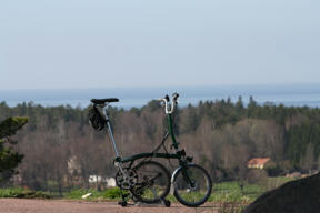Bild: Brompton on the lookout.